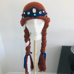 Hand-crafted Princess Wig, Anna
